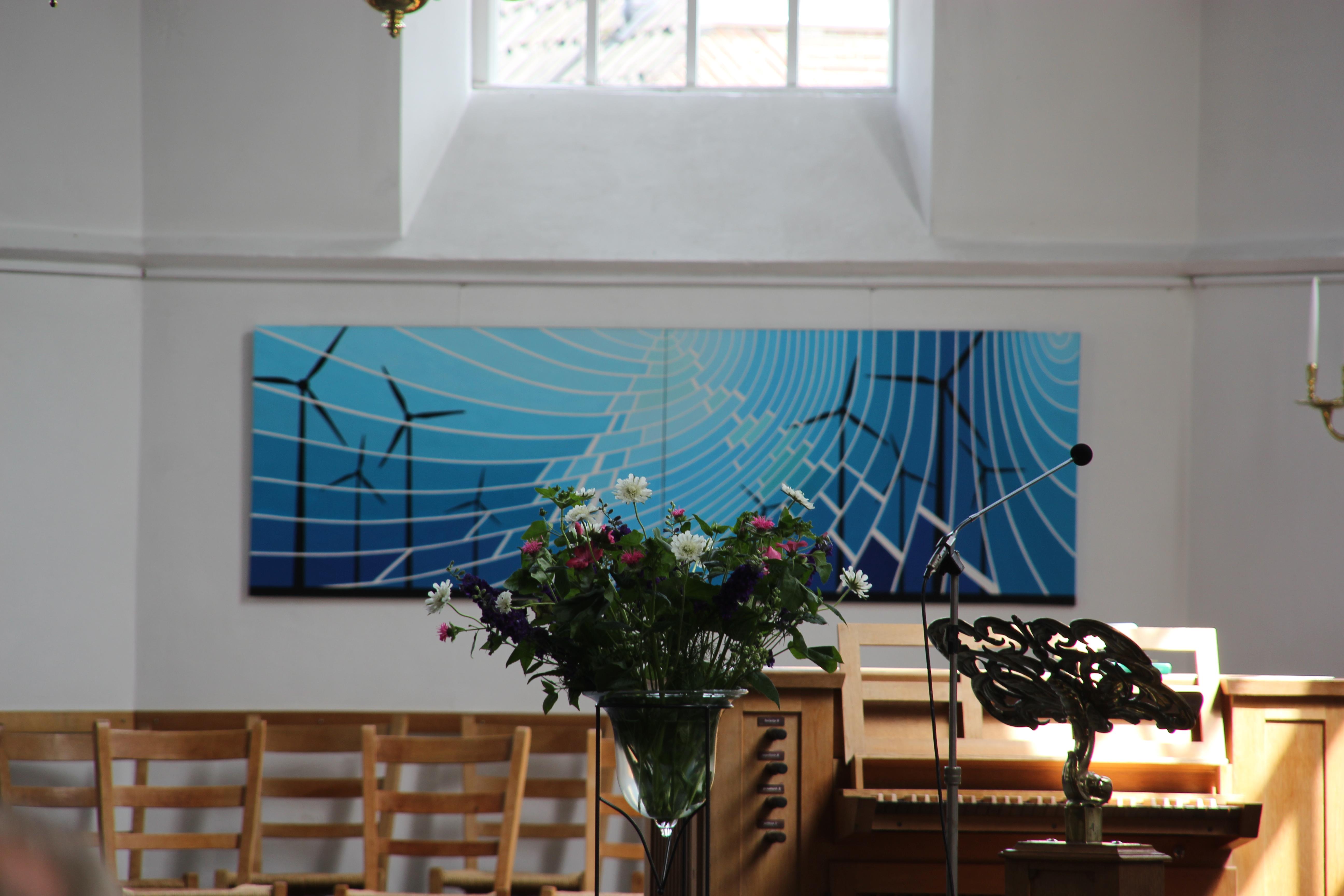 Expositie Teun Klumpers Oude Kerk Soest, zomer 2018