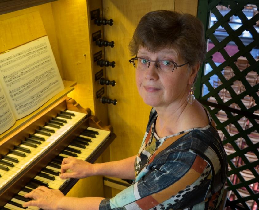 Cantor-organist Oude Kerk Soest - Gonny van der Maten