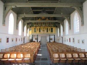 Interieur met orgel Oude Kerk Soest, 2019
