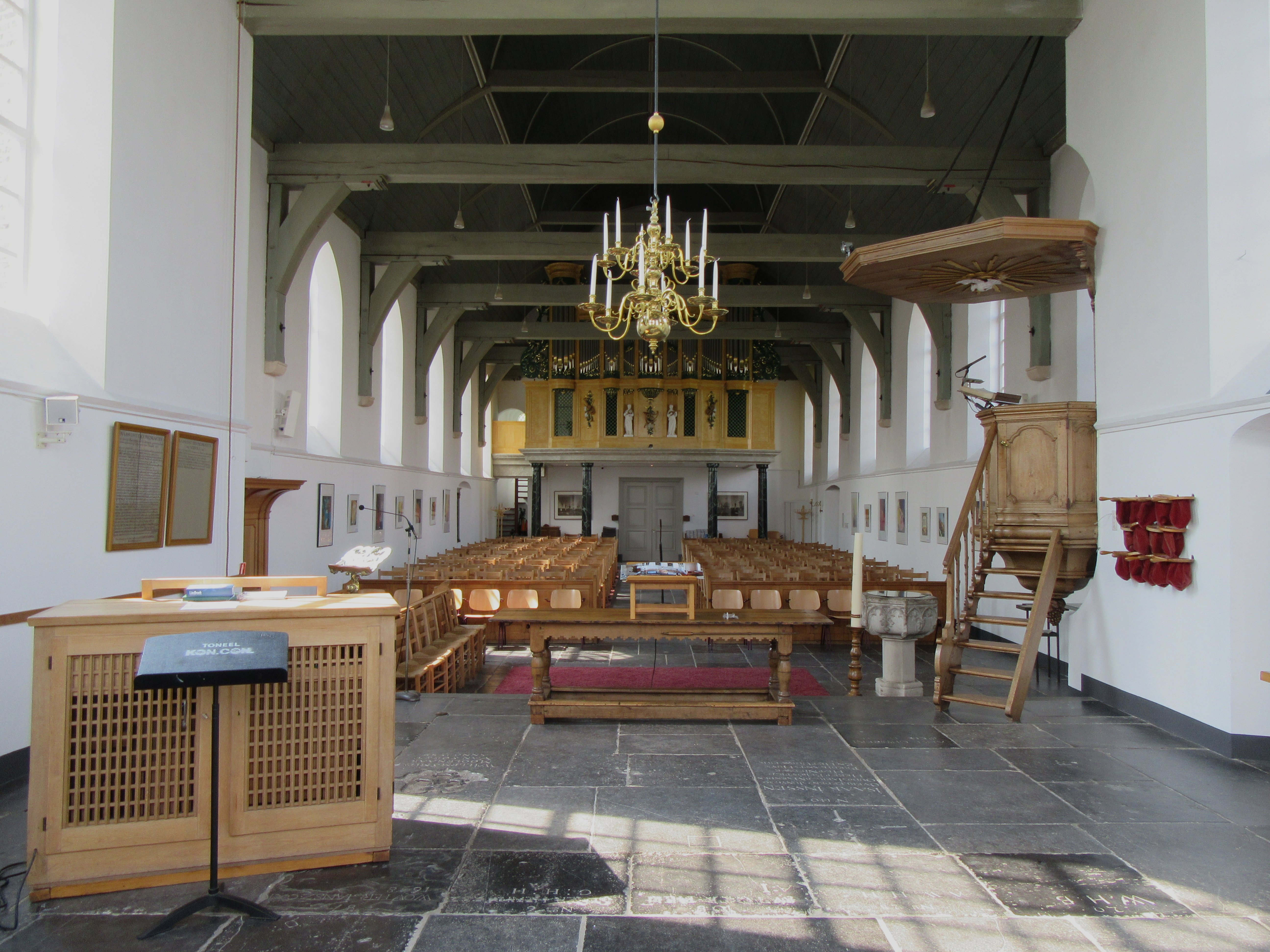 Open Monumentendag in de Oude Kerk