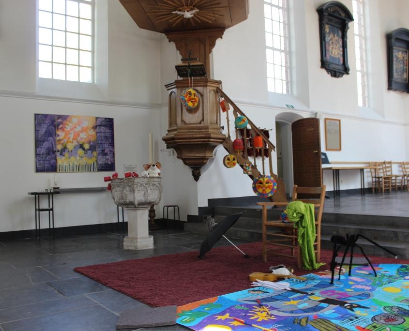 Kinderorgelconcert De Vijf griezels in Oude Kerk Soest, 22-04-2019