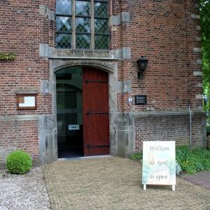 Bord Kerk open voor Oude Kerk Soest, mei 2019