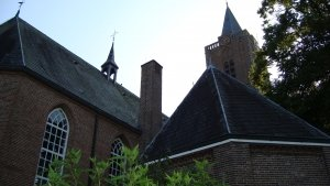 Exterieur Oude Kerk Soest -dakruiter